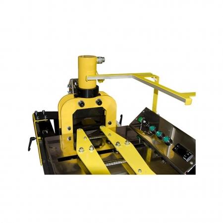 21022 Линия полуавтоматическая ЛПА-6РШ для резки шины в комплекте с шинорезом и маслостанцией SHTOK 5