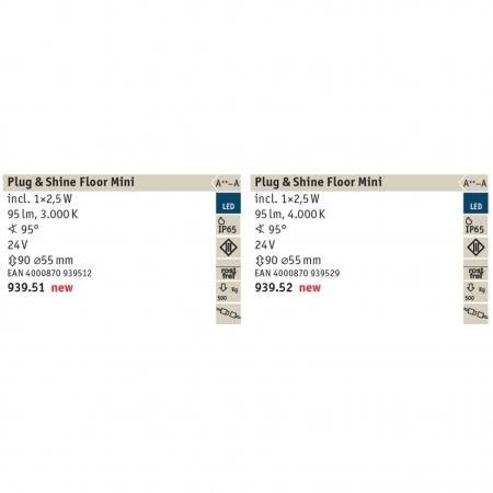 93954 OUTDOOR PLUG+SHINE SET 3X2,5W BODEN EBL SIL Paulmann 4