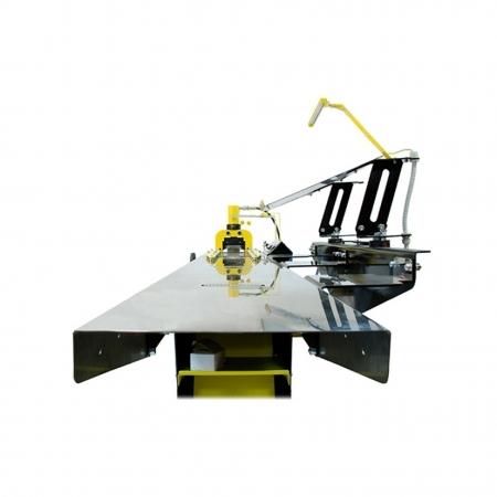 21022 Линия полуавтоматическая ЛПА-6РШ для резки шины в комплекте с шинорезом и маслостанцией SHTOK 4