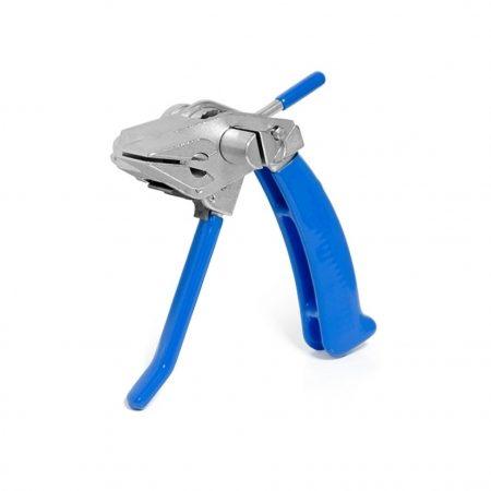 23004 Инструмент для натяжения и резки стальной ленты с храповым механизмом и переставной рукояткой SHTOK
